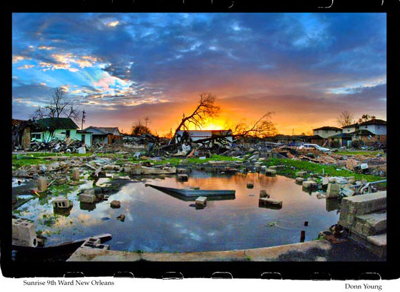 Disaster image by Donn Young