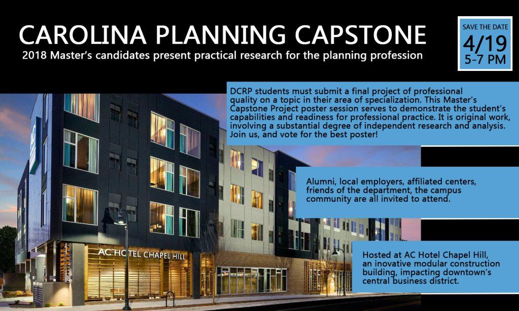 Capstone flyer image