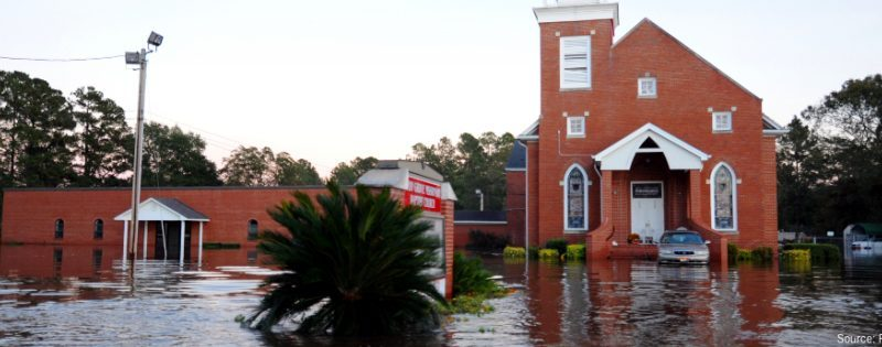 flooded town image