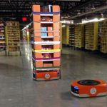 Amazon Fulfillment Center robot