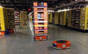 Amazon Fulfillment Center robot
