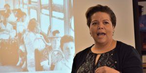 Dr. Allie Thomas talking