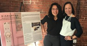 Karla and Mai at the Capstone
